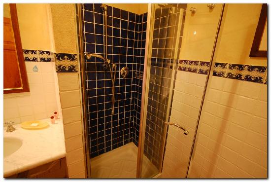 Palazzo al Torrione 2: Roomy shower stall