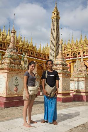 Half million Buddha images in Than boddhay temple,10 Km far from Monywa