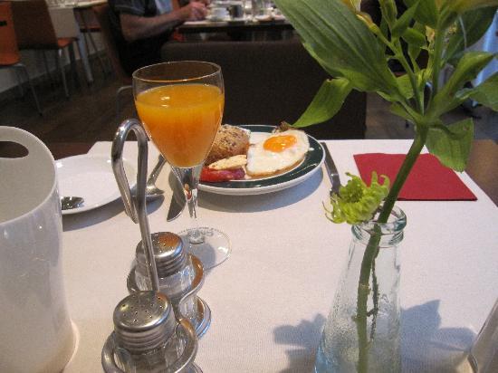 Hotel Zollamt: My colleague's breakfast
