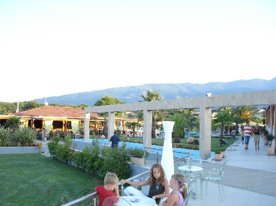 Poseidon Palace Hotel: die Anlage