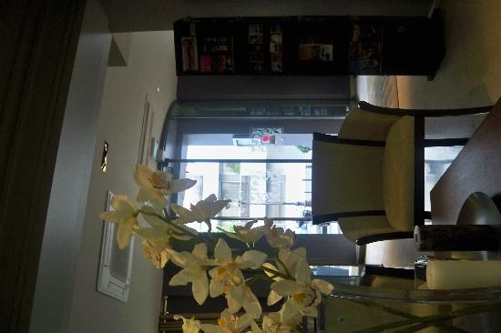 Hotel Maxim Quartier Latin : El lobby