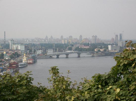 Vista Del Rio Dnieper Desde Kiev Foto De Kiev Ucr 226 Nia