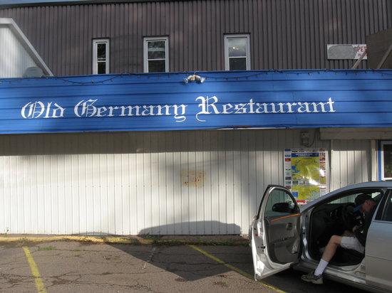Old Germany Restaurant : exterior shot