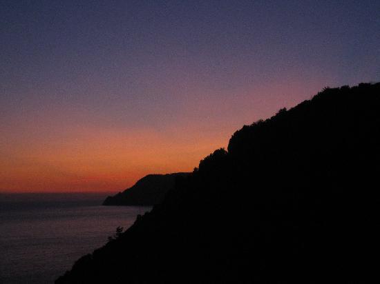 B&B Casa vacanze il Gatto: Corniglia sunset