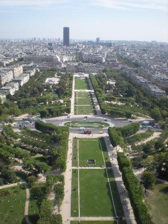 Hotel Bonaparte: One of the many views from the Eiffel tower