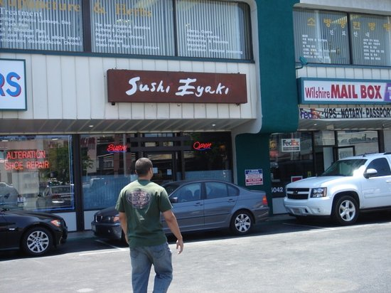 Sushi Eyaki Restaurant Menu