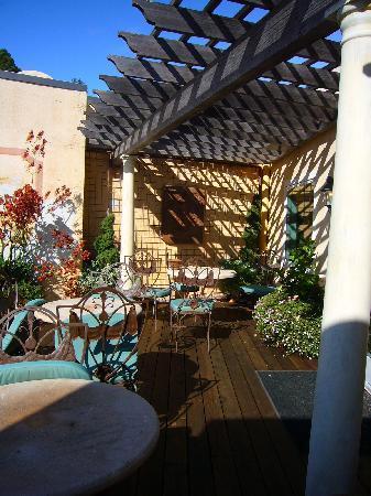 Hotel Sausalito: Deck