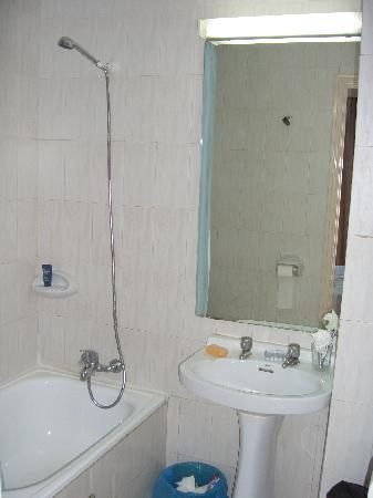 Hotel Leblon: Dusche