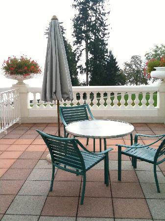 L'Imperial Palace : our patio