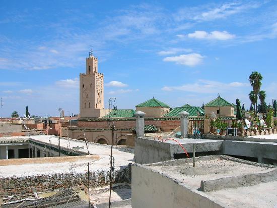 Dar Al Hamra: panorama dal terrazzo