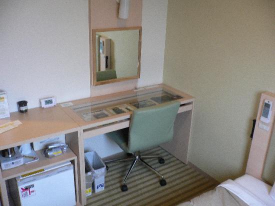 Super Hotel Lohas JR Nara-eki: 部屋の中です