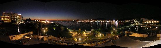 Foto panorámica desde S'Embarcador. ¡Que pasada!