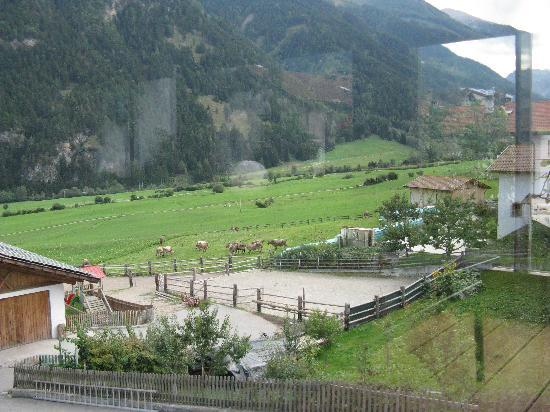 Natur - Aktiv Hotel Lamm: Vista dal centro wellness