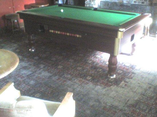 The Heathfield Inn: The pool room