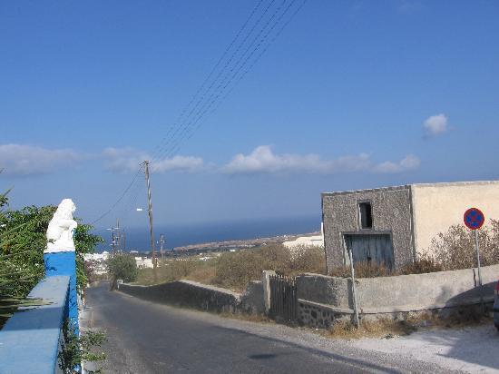 Alizea Villas & Suites: Vue mer de notre balcon