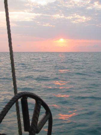 andBeyond Benguerra Island: a Dhow sunset cruis