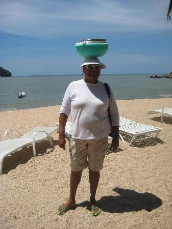 Casa Pericos: The Pie Lady on the beach