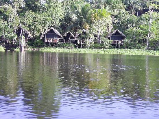 Plateau des Guyanes, Venezuela : Mis Palafitos vom Boot aus