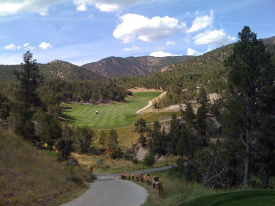 Lakota Canyon Golf Course: Back nine par 5