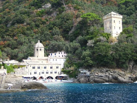 Camogli, Italie : Abbey