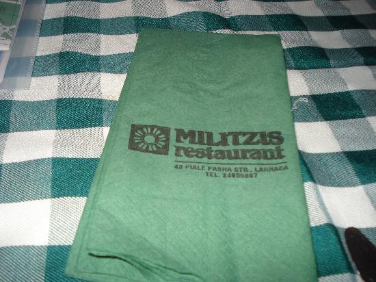 Militzis: Tissue