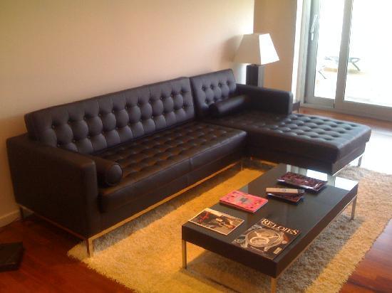 Finca Prats Hotel Golf & Spa : habitación. sala de estar