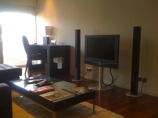 Finca Prats Hotel Golf & Spa: habitación.sala de estar
