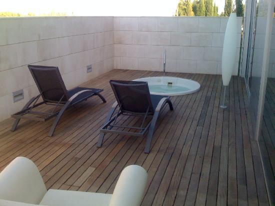 Finca Prats Hotel Golf & Spa: terraza