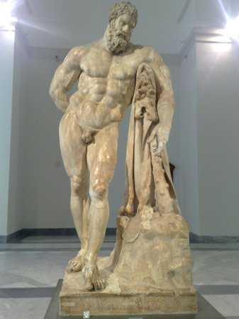 National Archaeological Museum of Naples:                   ERCOLE FARNESE
