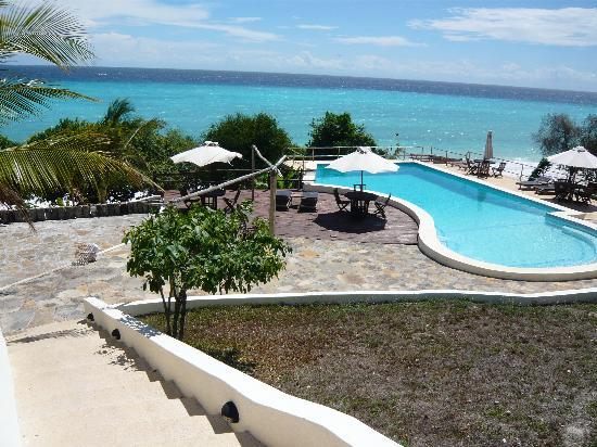The Manta Resort: The pool area