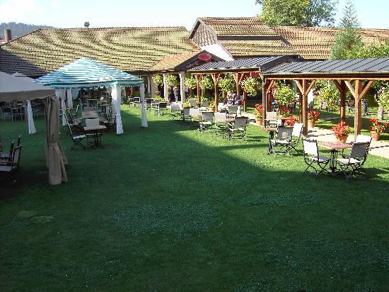Grand Hôtel & SPA de Gérardmer  : the garden