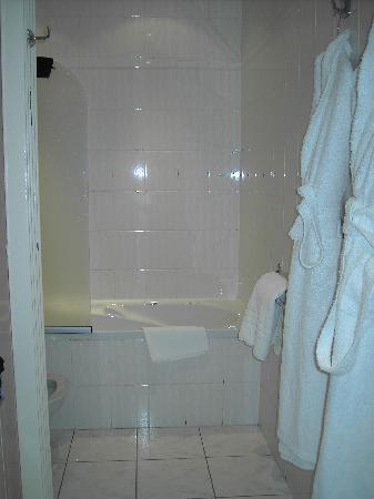 Grand Hôtel & SPA de Gérardmer  : the bathroom