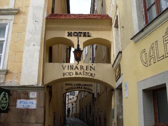 APLEND CITY Hotel Michalska: Michalská Brána Hotel, Bratislava, Slovakia