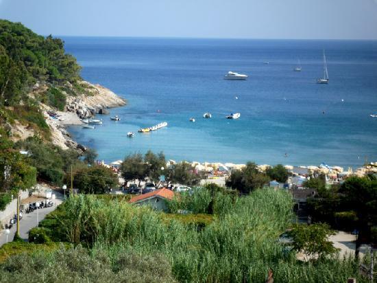 Fetovaia, Italien: dal terrazzo della nostra camera