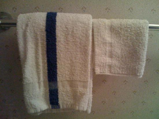 Motel 6 Memphis: Pool towels?  No much soap either!