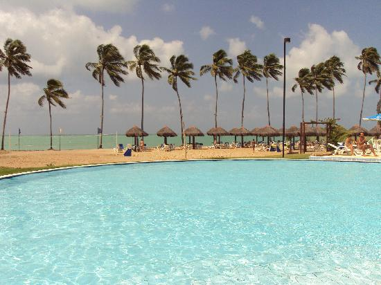 Salinas de Maceio Beach Resort: piscina com vista pro mar