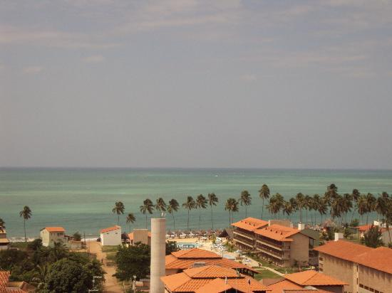 Salinas de Maceio Beach Resort: vista do hotel  -  na vila