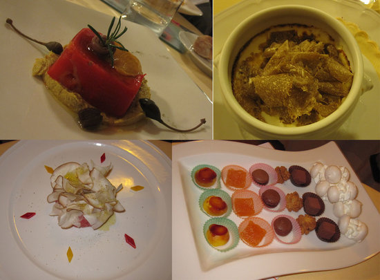 Cervere, Italien: Look at the nice food!