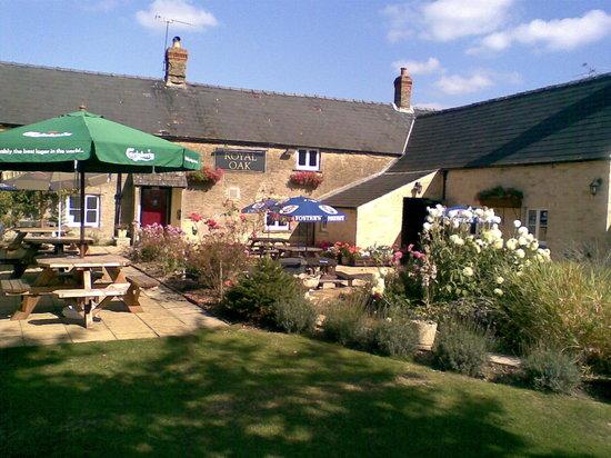 Cirencester, UK : Beer Garden