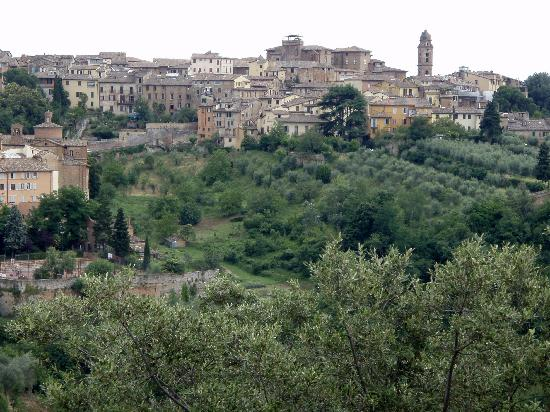 Camping Siena Colleverde: Siena, hilltop city just across the valley