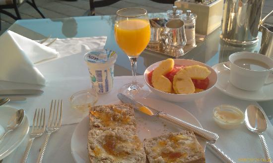 Sunny Breakfast In The Terrace Picture Of Esplanade Zagreb Hotel Tripadvisor