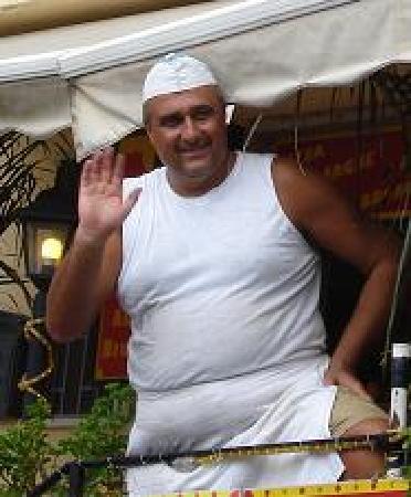 Gallo Cedrone : Chef!
