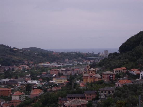 Chiavari, İtalya: View from terrace