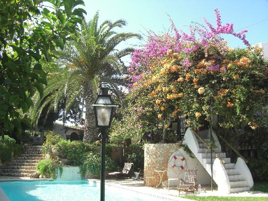 Uma Casa a Beira Sol: very clean (no smell of chlorine) pool & beautiful garden
