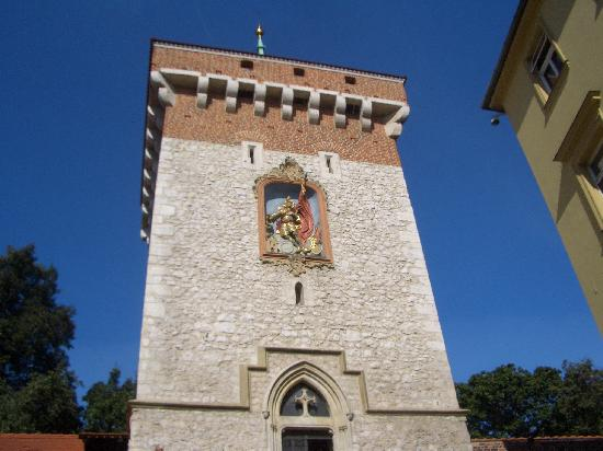 St. Florian's Gate (Brama Florianska): interior view of the gate