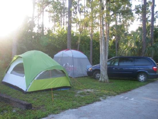 Our Camping Spot Picture Of West Palm