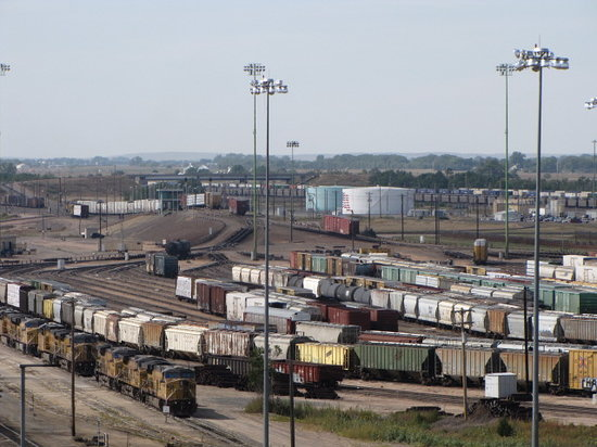Union Pacific Railroad Bailey Yard Photo