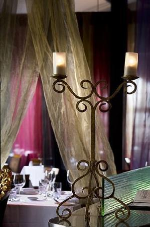 Bel Mondo - the dining area