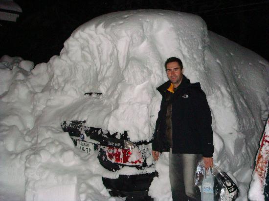 Snowbird Pension: Snow Snow !!!