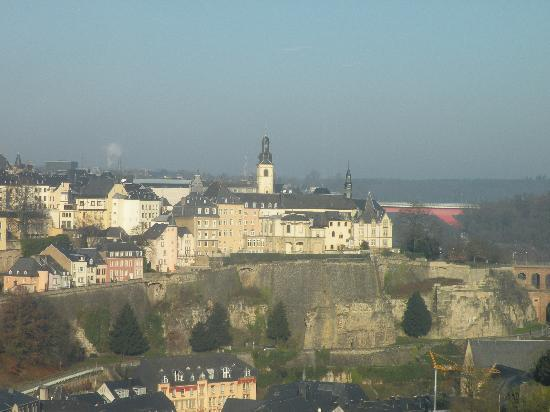 Sofitel Luxembourg Le Grand Ducal: View from my hotel room